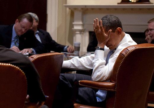 Obama face palm