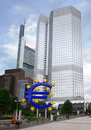 who trades forex ecb central bank