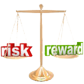 risk reward scales