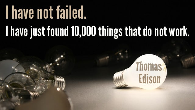 edison quote mistakes