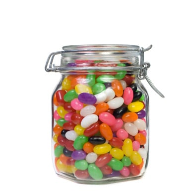 jelly bean jar average