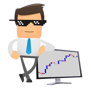 the forex guy mascot