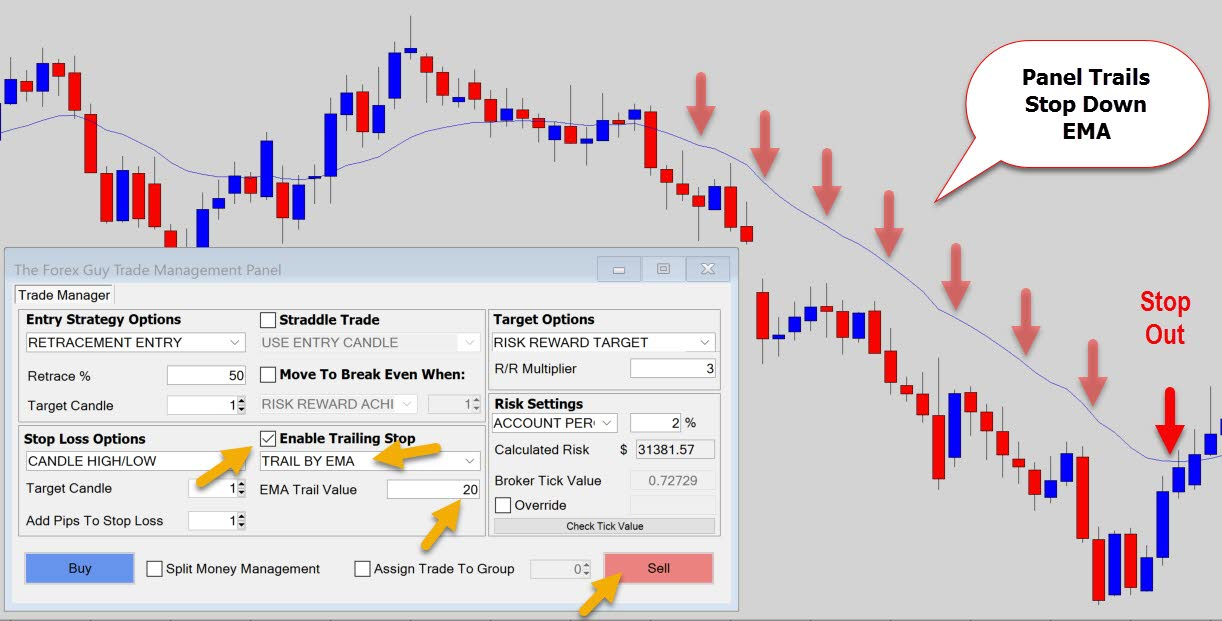 What is trailing stop loss in forex