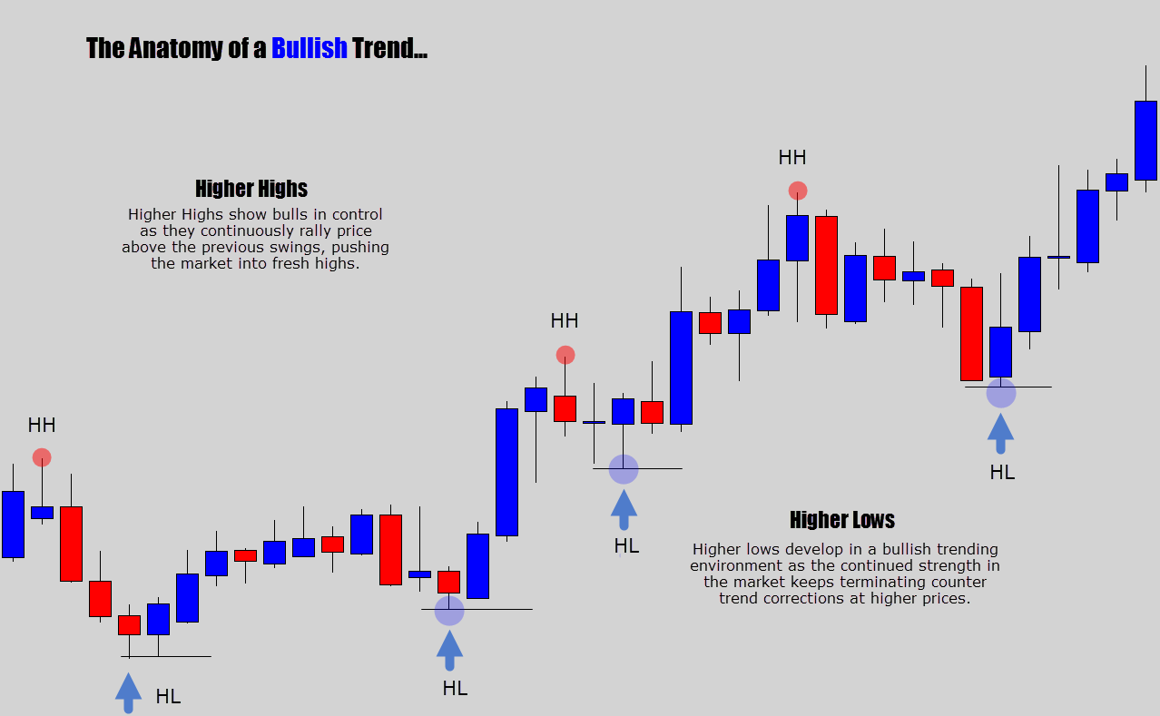 anatomy of bullish trend