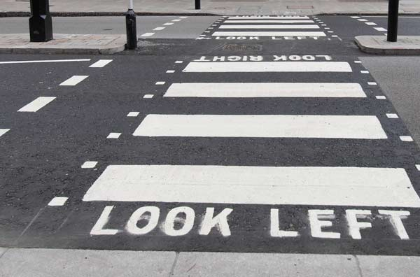 look left analogy for technical analysis